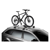 Roof Mounted Bike Carrier Thule ProRide 598001 Silver