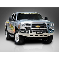 ECB Black Ripple Big Tube Bullbar for CHEVROLET SILVERADO 2500HD 4X4 /11 - 08/14 (BC54SYB)