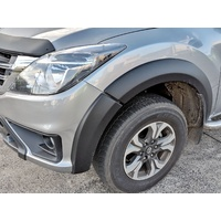 EGR Aluminium Full 6 Piece Set Fender Flares for Mazda BT-50  2011 - April 2018