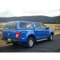 EGR Absolute Red Premium Canopy for Holden Colorado RG with Slide/Slide side windows
