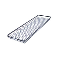 Rhino Rack RLBHL Steel Mesh Basket Half Long