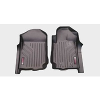 MaxPro Molded Floor Mats Full Set to suit Toyota Hilux 2015 -